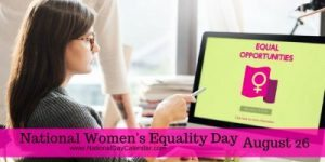 National Women's Equality Day