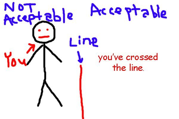 Crossed the Line: It's Time to Lean In