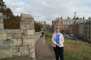 Cathy Sprankle on Vacation in York, England