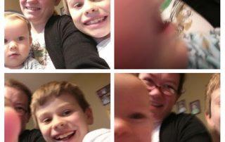 Ellie & Kids Collage
