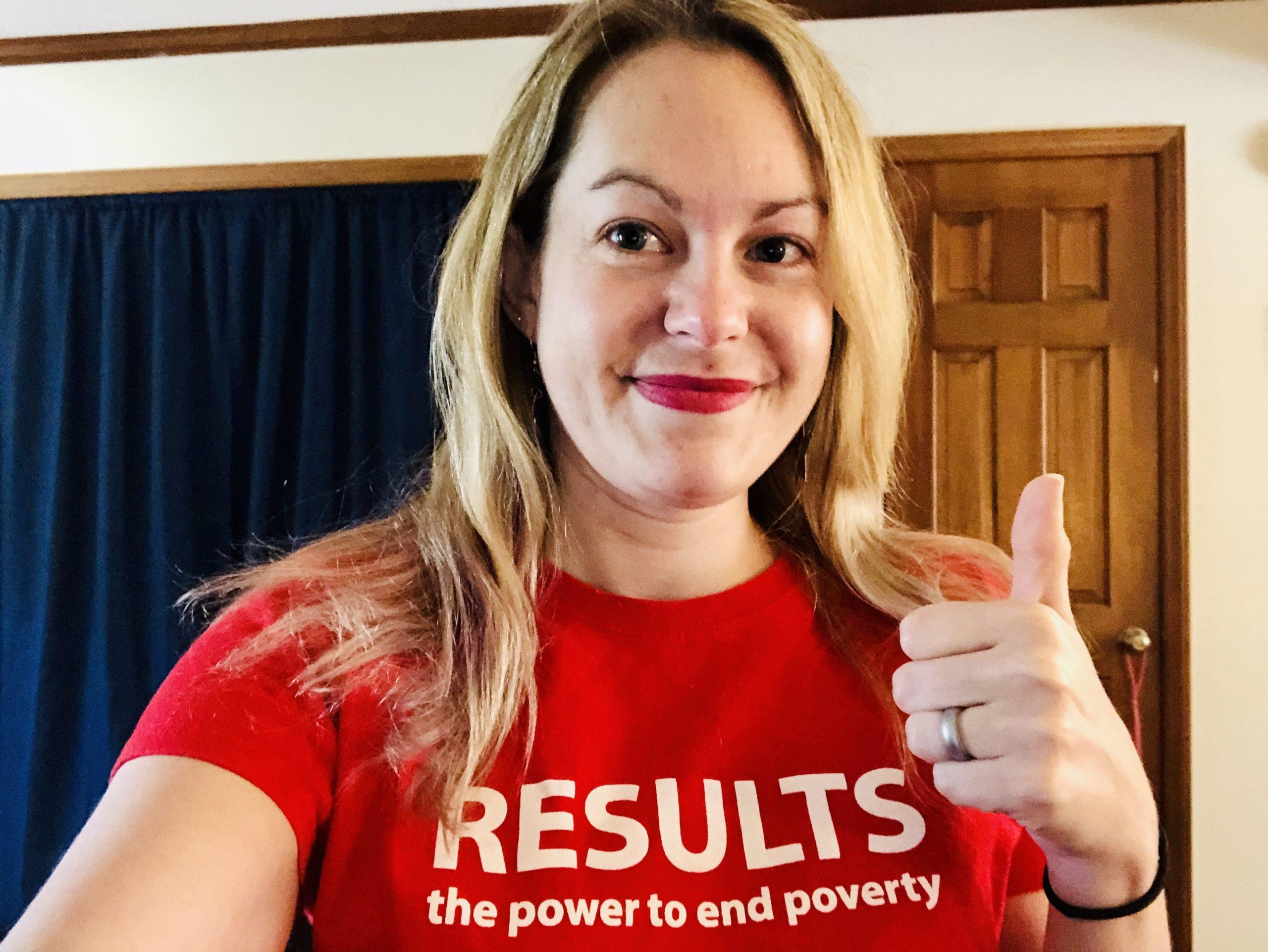 Lindsay K. Saunders, RESULTS Advocate