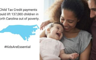 In North Carolina, payments could lift 137,000 children out of poverty.